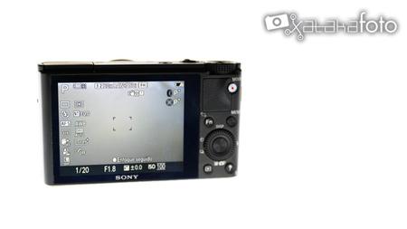 Sony RX100 Pantalla LCD