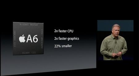 Apple A6 presentación