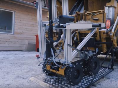 Los robots basureros de Volvo nos enseñan su trabajo en vídeo