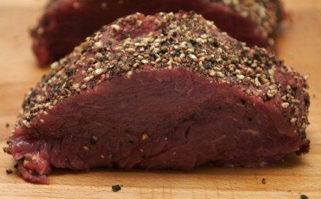 Análisis nutricional de una porción de carne vacuna magra