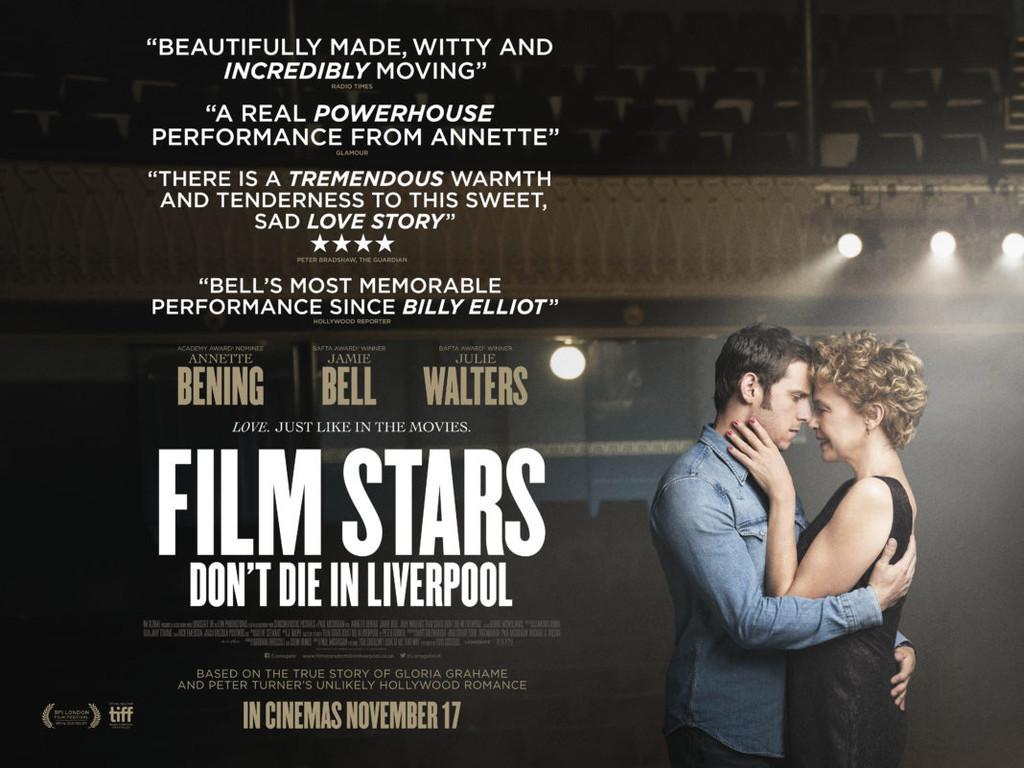 Cartel de Film Stars Don't Die In Liverpool