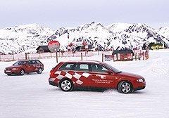 Aprende a conducir en nieve con Audi