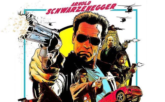 Imagen con un cartel de la película 'El último desafío'