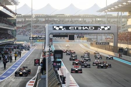 Así fue la remontada de Sebastian Vettel en Abu Dabi