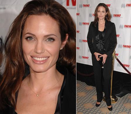 Angelina Jolie en los premios de la International Women's Media Foundation