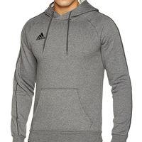 Desde 22,95 euros tenemos la sudadera Adidas  Hoody18 en gris disponible en Amazon