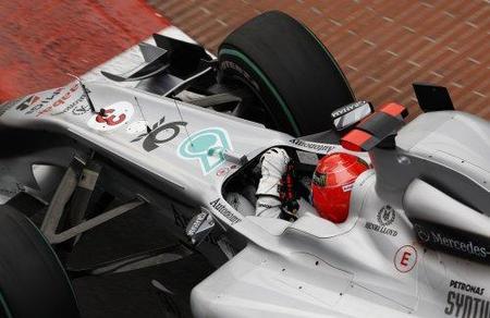 GP de Mónaco 2010: Mercedes reclamará por la sanción a Michael Schumacher