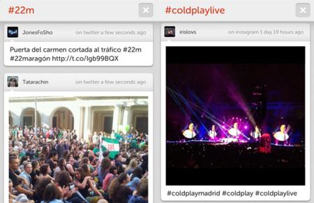 'Hashtag app' para iPhone, la manera más sencilla de seguir un hashtag en Twitter e Instagram