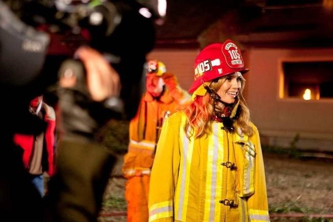 Heidi Klum bombera