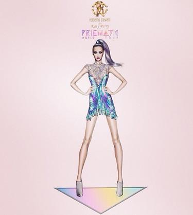 Atentos a los modelitos que va a lucir Katy Perry en su gira