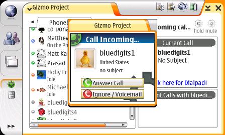 VoIP de SIPphone para el Nokia N80 Internet Edition