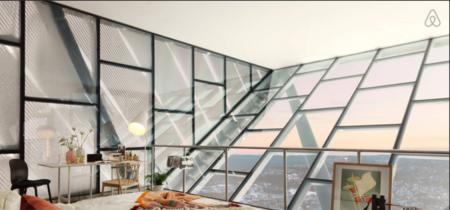 Vistas increíbles desde la habitación del Holmenkollen Ski Jump de Oslo