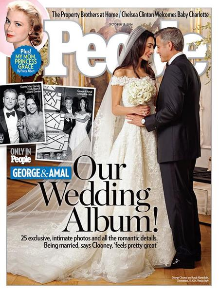 Y ya hay exclusivas de la boda de George Clooney