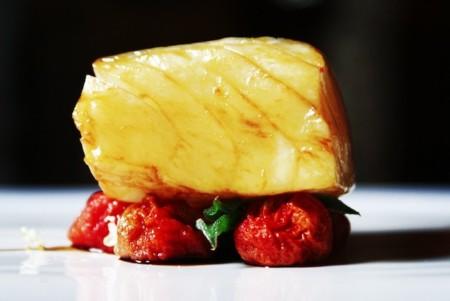Bacalao Ahumado A La Brasa Con Tomate Casona Del