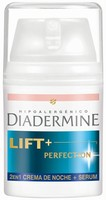 Probamos la crema Lift+ Perfection Crema de Noche + Serum 2en1 de Diadermine
