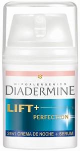 Probamos la crema Lift+ Perfection Crema de Noche + Serum 2en1 de Diadermine