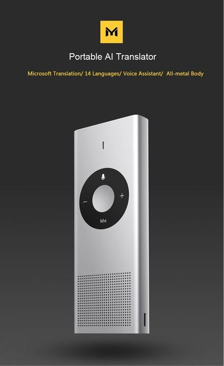 El traductor portátil de Xiaomi, con 14 idiomas, por sólo 41,92 euros utilizando este cupón