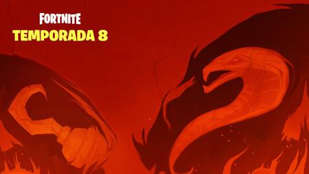 Fortnite calienta la temporada 8 con piratas, una imagen de una serpiente marina y la mención a misteriosa cueva