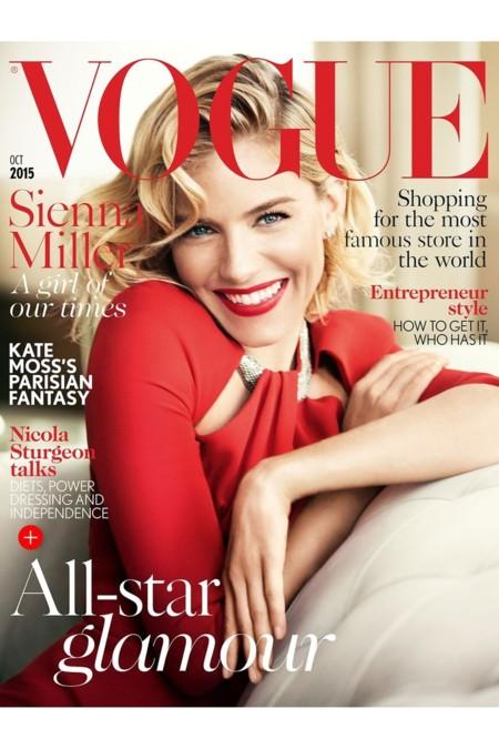 Vogue Reino Unido: Sienna Miller