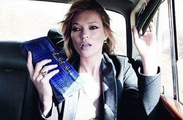 Los nuevos bolsos de Longchamp con Kate Moss: campaña Otoño-Invierno 2010/2011