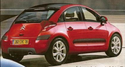 Citroën C3 2008, primeros bocetos