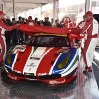Ferrari presentó el 488 GTE, pero ¿y Porsche?