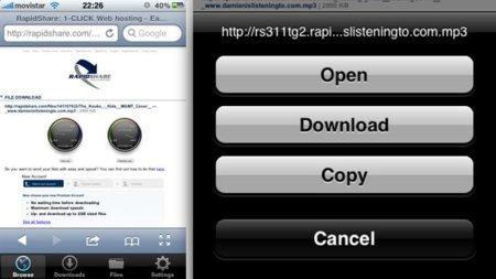 Análisis de Downloads para el iPhone e iPod touch
