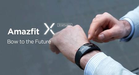 Amazfit X, el reloj más arriesgado de Huami, ya se puede comprar