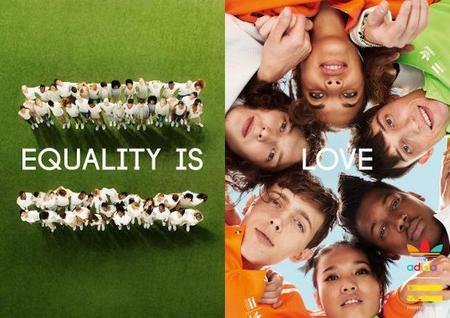 Pharrell Williams promueve la equidad de genero y etnias a través de su ultima colaboración con Adidas Originals