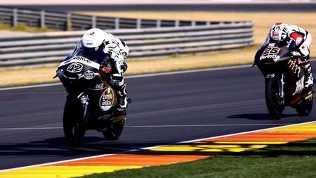 Dominio total español en el primer día de test de Moto2 y Moto3 en el circuito de Valencia