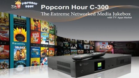 Popcorn Hour C-300, media center de gama alta para nuestros salones