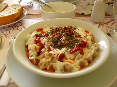 Qué comer en Turquía: yaprak manti