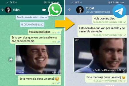 Cómo importar los chats de WhatsApp en Telegram con un móvil Android