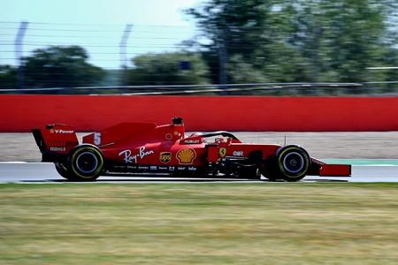 Vettel Silverstone F1 2020