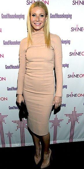 gwyneth vestido nude corto