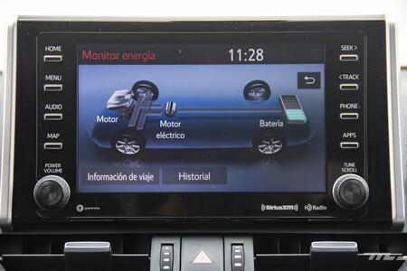 Consumo híbrido Toyota RAV4 mexico 16