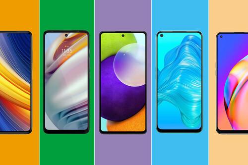La gama media de 2021 en México está más reñida que nunca: comparativa de los mejores teléfonos que buscan conquistarla
