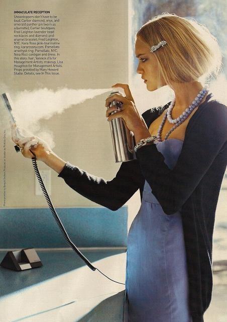 Foto de Gemma Ward - Vogue, diciembre 2007 (5/6)
