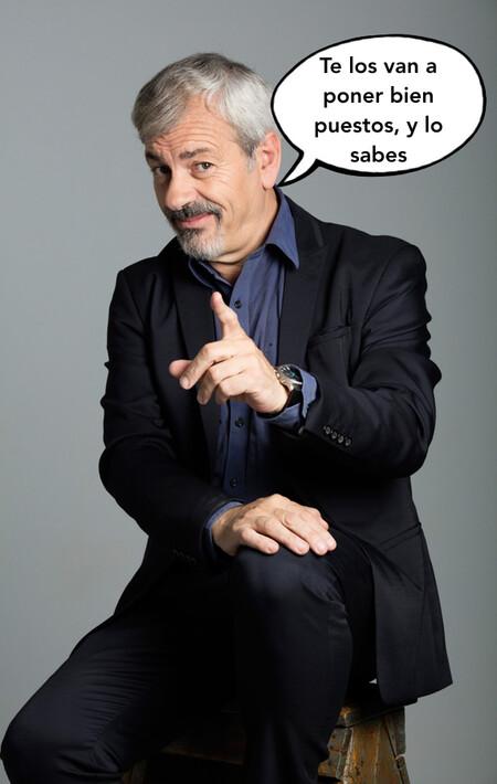 Carlos Sobera ya está curtido en el amor gracias a 'First Dates' y ahora lo estará en la mandanga cornuda gracias al debate de 'La Isla de las Tentaciones 2'