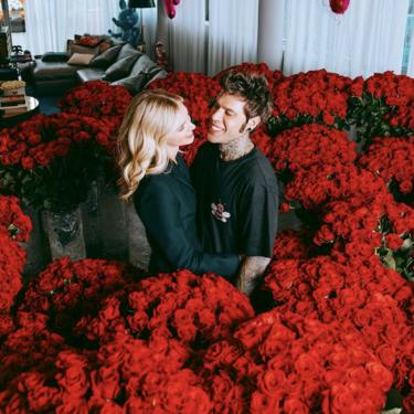 5.000 rosas rojas, el regalo más espectacular y caro que ha recibido Chiara Ferragni por su 32 cumpleaños