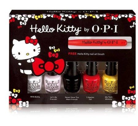 Opi Hello Kitty 2016 Nail Polish Collection 2