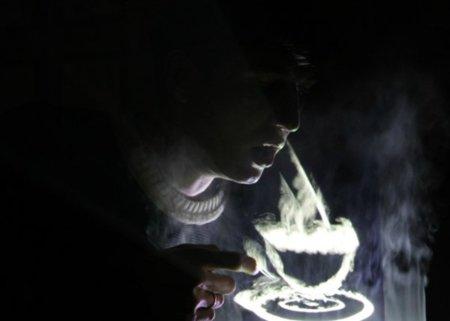 DisplAir, interfaz gestual en la niebla