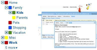 Nuevas funcionalidades en Gmail Labs: jerarquía en las etiquetas y previsualización de mensajes