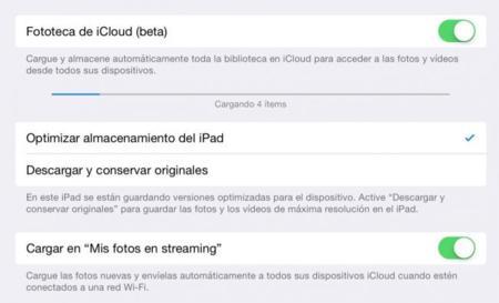 ¿Cómo funciona la fototeca en iCloud? Configuramos la versión beta