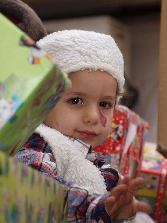 La foto de tu bebé: recuerdo de la Navidad