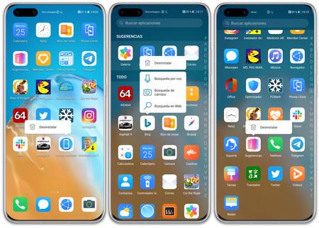Huawei P40 Pro 04 Soft Apps Deinstalar