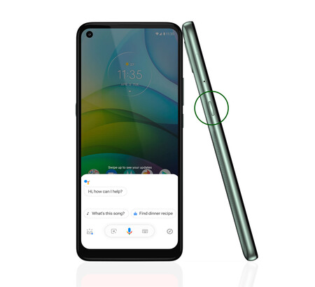 Moto G9 Power Boton Assistant