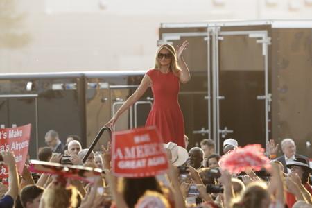 Melania Trump Rojo