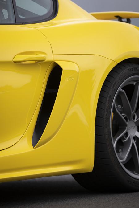 Porsche 718 Cayman GT4 entrada de aire lateral
