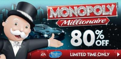 Monopoly Millionaire aterriza en Android en oferta limitada